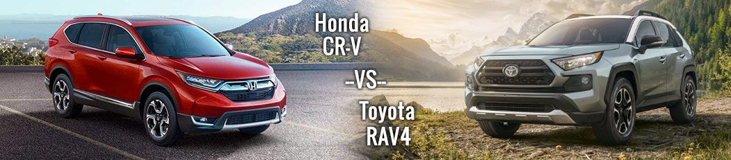 2019 Toyota RAV4 Crossover versus 2019 Honda CR-V In Granbury, Texas