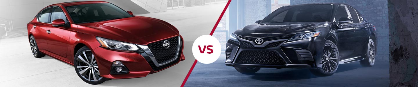 Compare The 2019 Nissan Altima Against The Toyota Camry In Fremont, CA