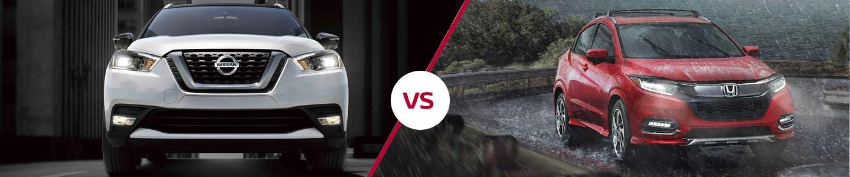 Comparing The 2019 Nissan Kicks Crossover Against The Honda HR-V