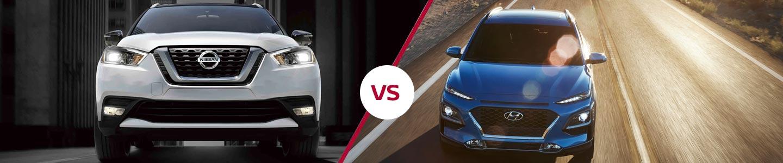 2019 Nissan Kicks Crossover Compared To The Hyundai Kona