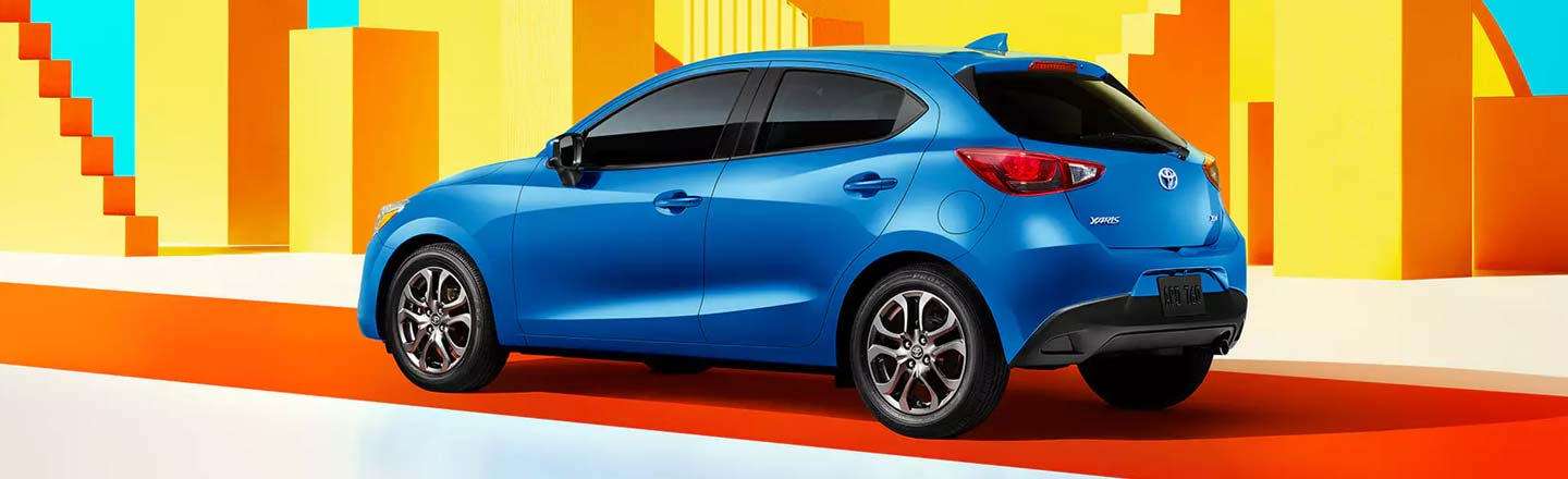 2020 yaris hatchback