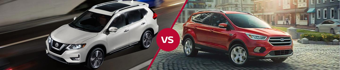 Comparing The Nissan Rogue Against The Ford Escape In Orlando, Florida