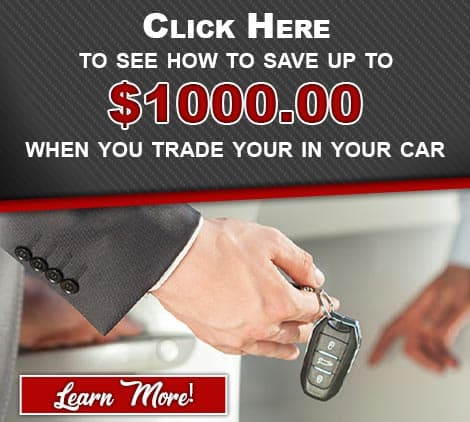 Save Up To $1000 when you trade in your car at Vann York GM