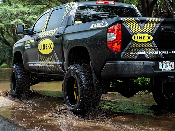AMP Maui offers LINE-X products to match your modified vehicle