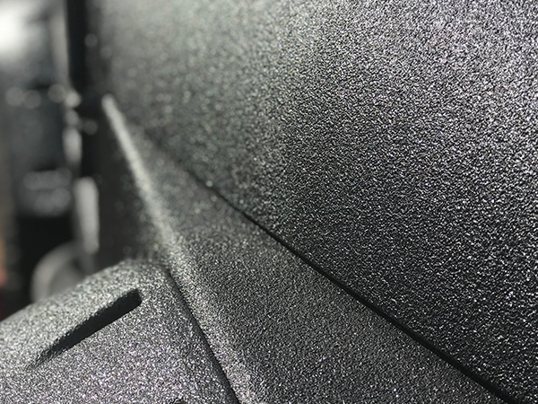 LINE-X comes in different textures to help protect your vehicle