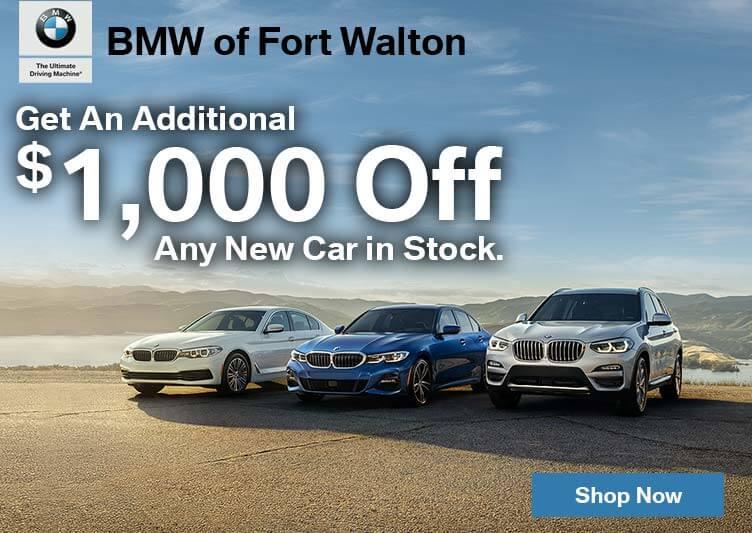 Additonal $1,000 any New Cars