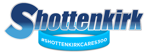 Shottenkirk Cares 300 logo