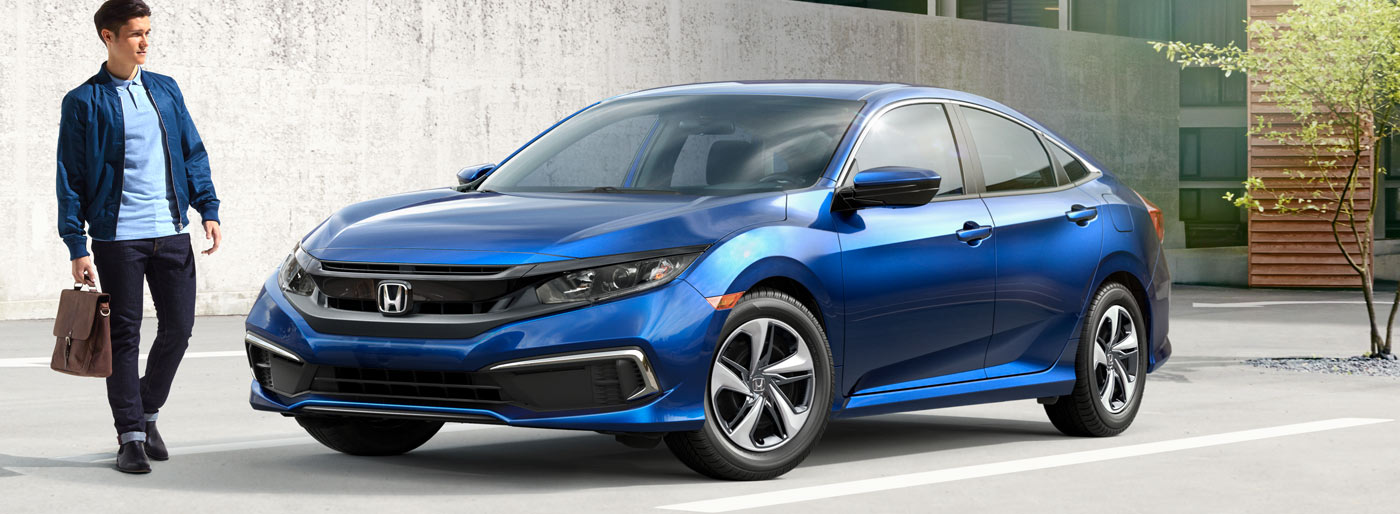 The 2019 Honda Civic is available at our Honda dealership in Fort Myers, FL.