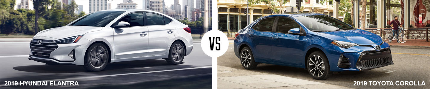 Comparing The Hyundai Elantra Vs. The Toyota Corolla In Medford, OR
