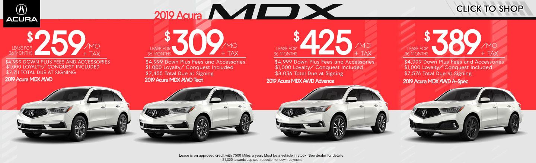 2019 mdx offers