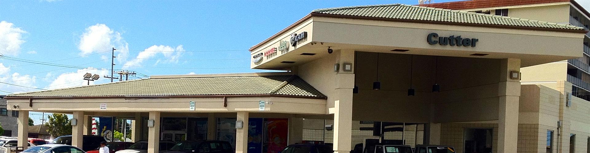 Cutter CDJR Dealership in Pearl City HI