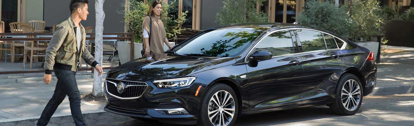 Cruise Through Burlington, IA in a Sleek 2019 Buick Regal Sportback!