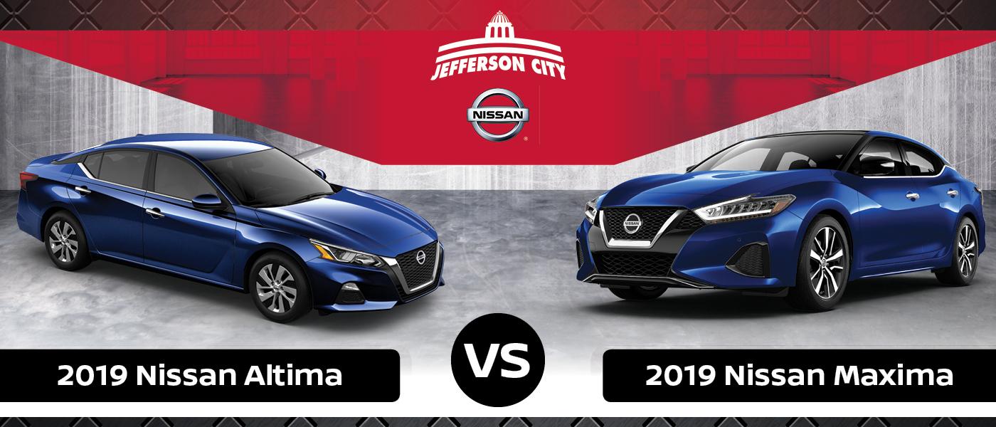 Altima Vs Maxima >> 2019 Nissan Altima Vs Maxima Specs Design Performance Tech