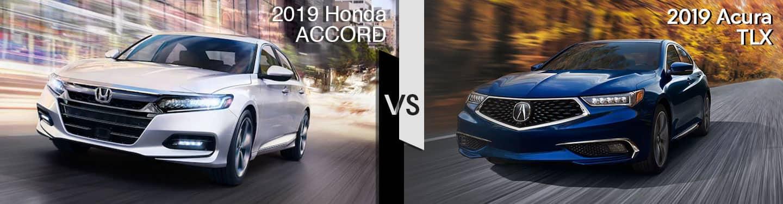 Davis Acura 2019 Acura TLX vs 2019 Accord