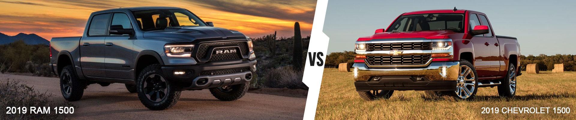 Compare The 2019 Ram 1500 Against The 2019 Chevrolet Silverado