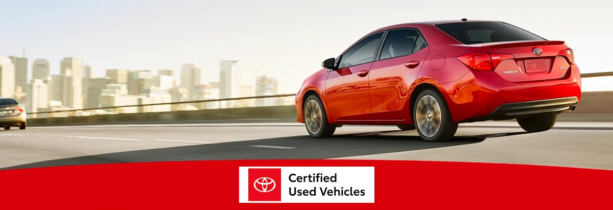 Why Buy Certified Toyota Cars from Our Panama City, FL, Dealership?