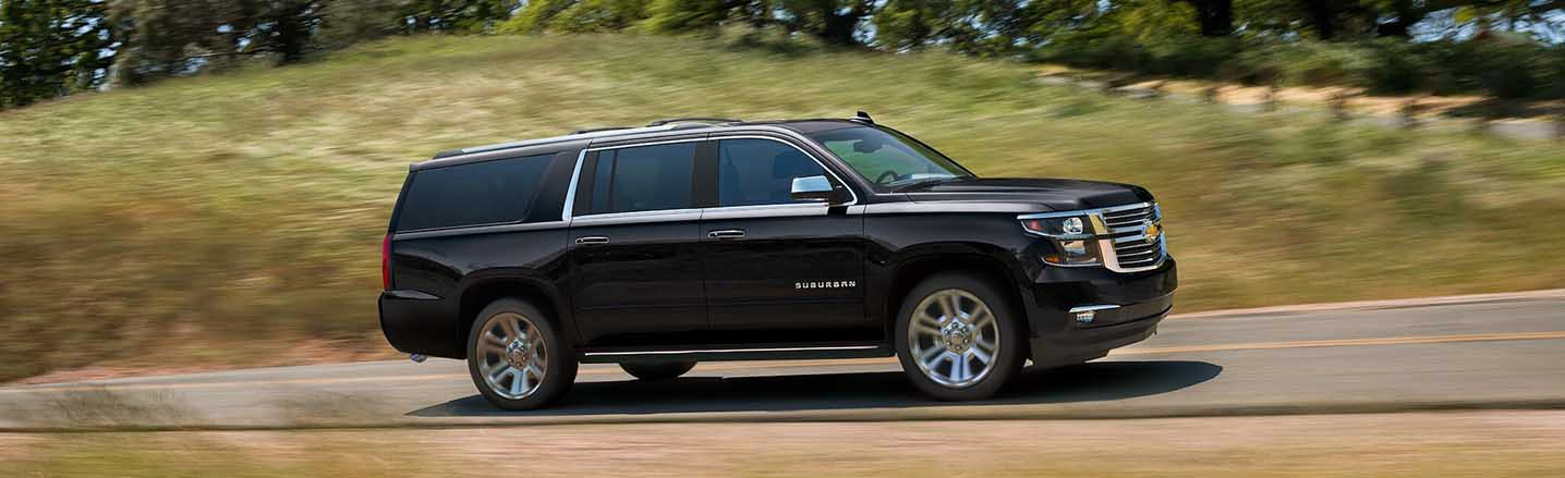 Make Your Own Path in an Exciting 2019 Chevrolet Suburban SUV