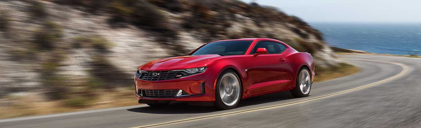 Blaze Your Path Through Keokuk, IA in a 2019 Chevy Camaro