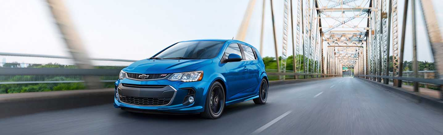 Drive with Purpose in the Fun and Zippy 2019 Chevy Sonic