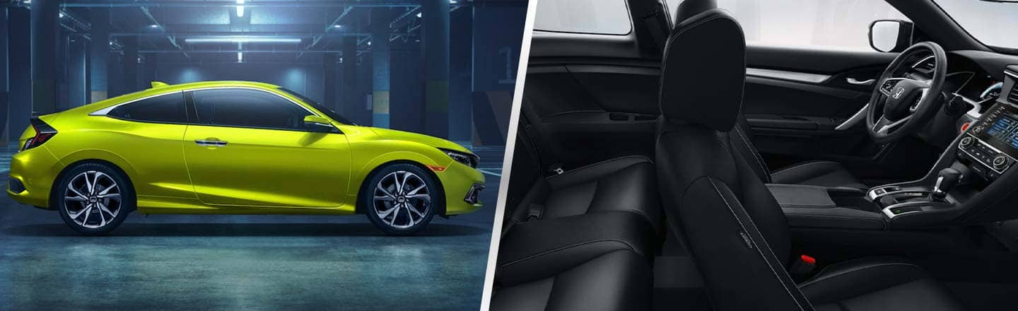 The 2019 Honda Civic Coupe Is Available At Our Davis, CA, Auto Dealer