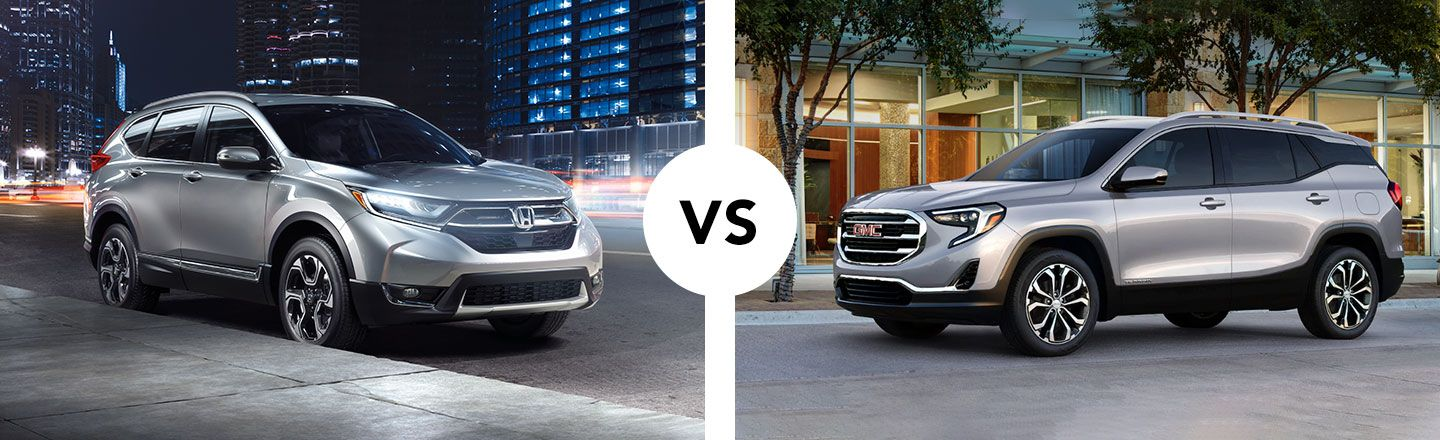 Similarities & Differences Between Honda CR-V And GMC Terrain