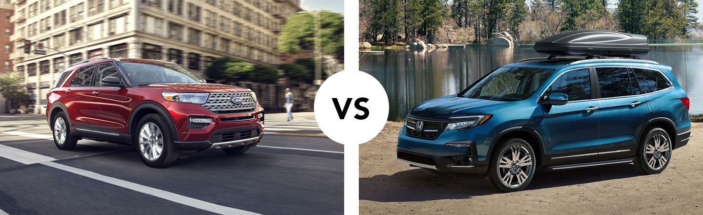 Differences Between The Honda Pilot & Ford Explorer In Cartersville