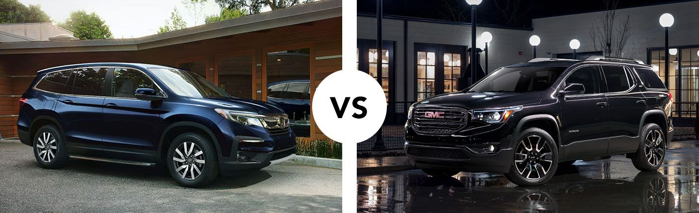 Comparing The Honda Pilot Against The GMC Acadia In Cartersville, GA