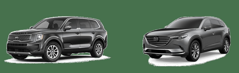 Comparing The 2020 Kia Telluride Against The Mazda CX-9 In Orlando