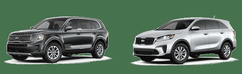 Differences Between The Kia Telluride & Sorento In Orlando, FL