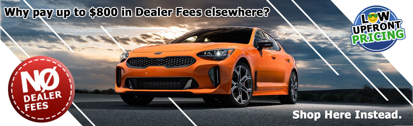 No Dealer Fees on New Vehicles Banner