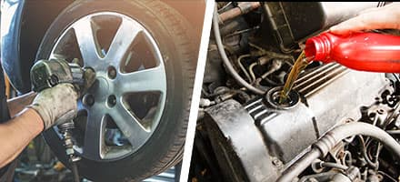 Oil and Filter Change and Tire Rotation