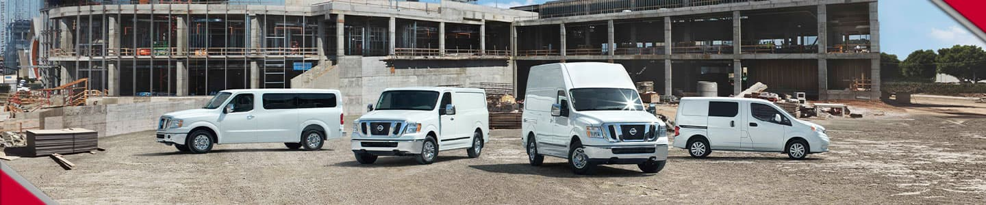Commercial Vehicles available at John Lee Nissan
