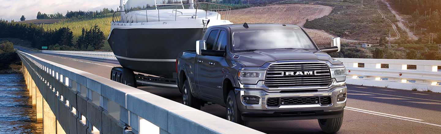 Never Back Down from a Tough Job in the 2019 RAM 2500 Truck
