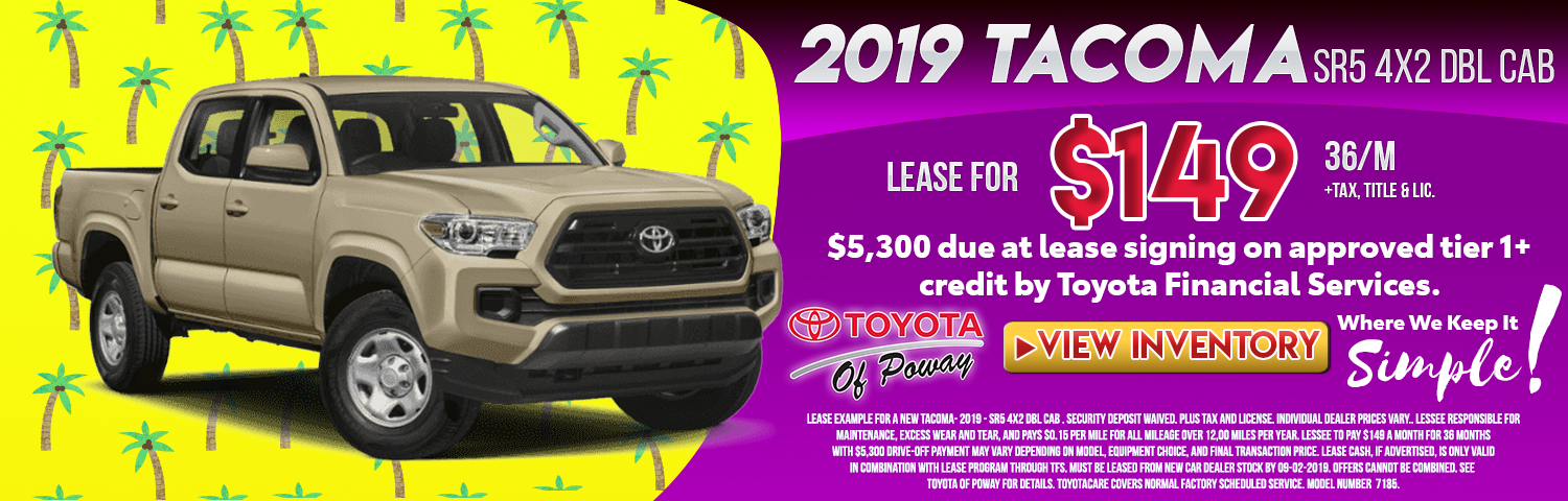 Toyota Of San Diego >> San Diego County Auto Lease Specials In Poway Ca Toyota Of Poway