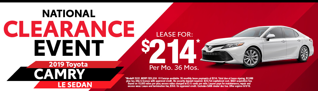 Toyota Lease Deals >> Toyota Lease Specials In Milford Ma Dch Toyota Of Milford