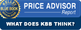 kbb price advisor what does kbb think