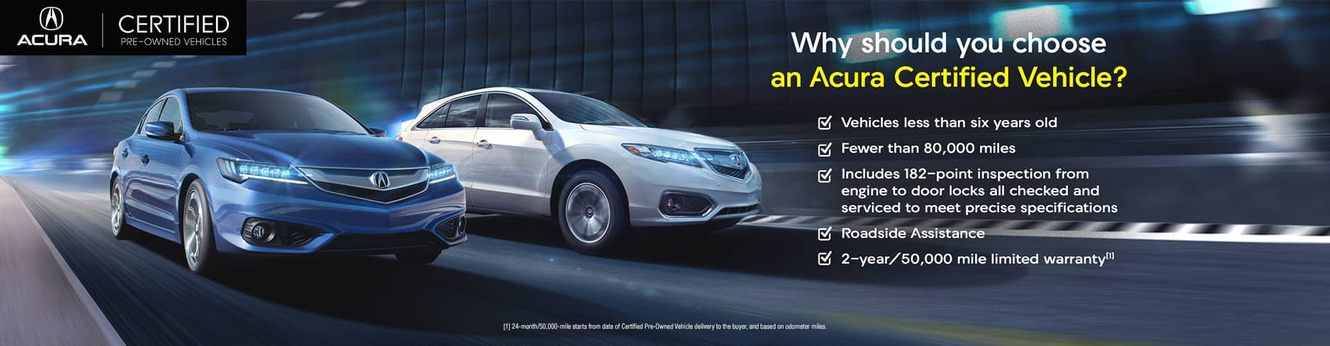 Acura Certified Pre Owned >> Certified Pre Owned Vehicles