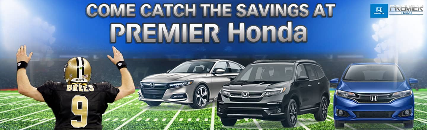 Honda Dealerships In Louisiana >> Premier Honda New Honda Used Car Dealership In New Orleans La