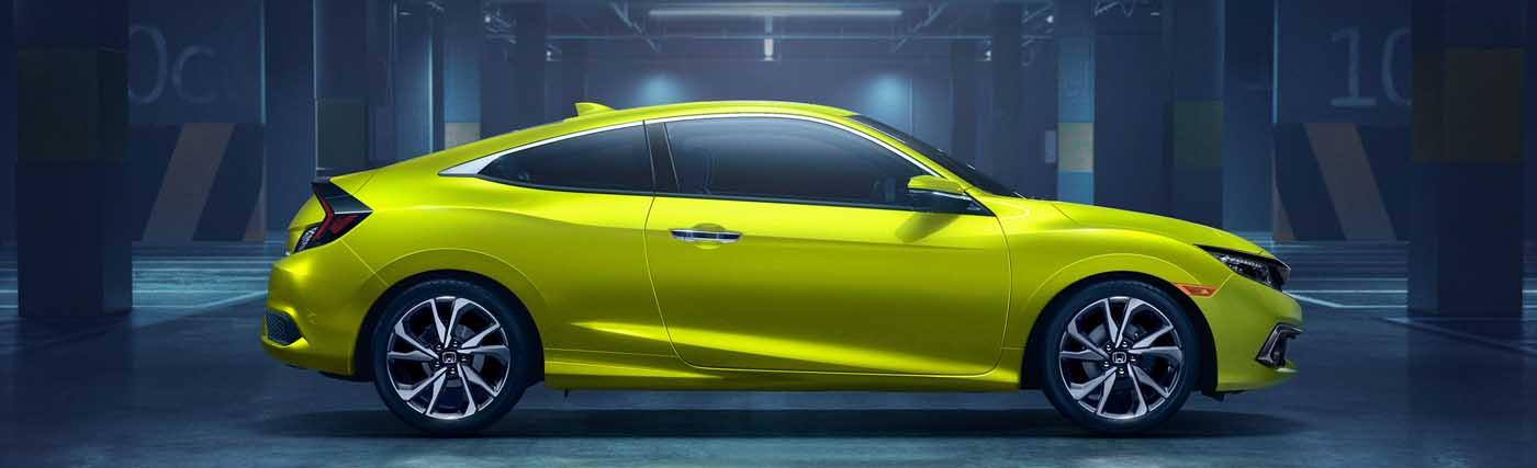 Overview of the Honda Civic Coupe