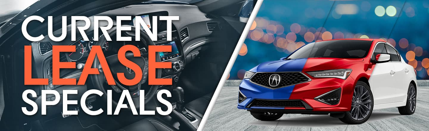 Current Lease Specials at Gold Coast Acura