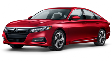 2019 Honda Accord in Red at Great Lakes Honda