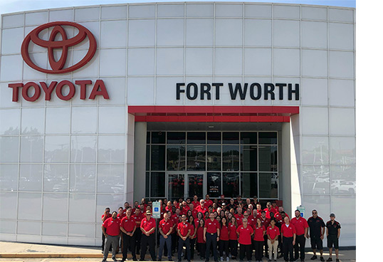 Toyota Dealerships Dfw >> About Our Dealership Near Arlington Tx Toyota Of Fort Worth
