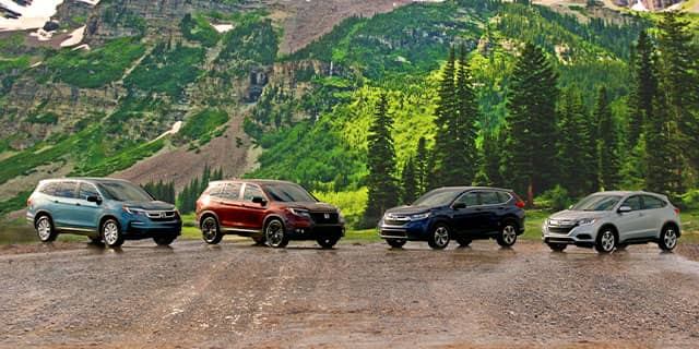Honda Vehicles Display