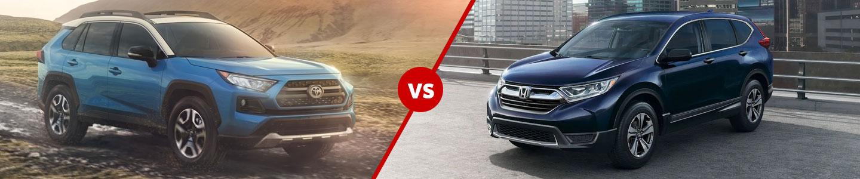 It's Time for the 2019 Toyota RAV4 to Battle the 2019 Honda CR-V