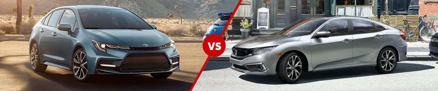 The 2019 Toyota Corolla Out Drives the 2019 Honda Civic