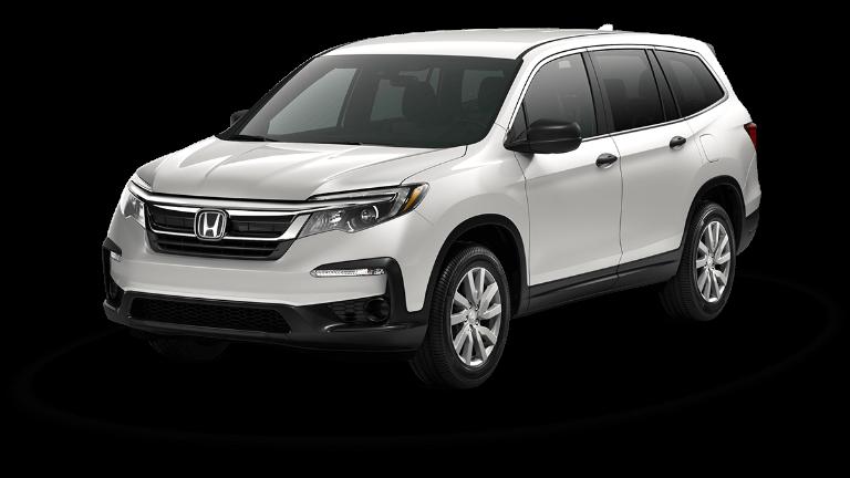 2019 Honda Pilot Platinum White Pearl