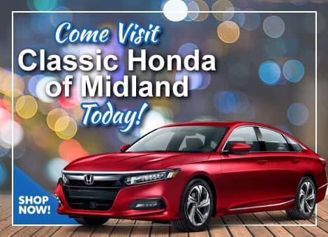 Visit Classic Honda of Midland Today