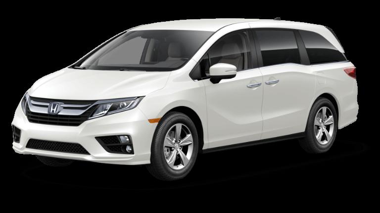 2019 Honda Odyssey Platinum White Pearl