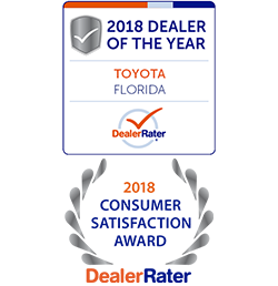 Sun Toyota wins 2018 & 2019 Toyota Dealer of the Year by DealerRater
