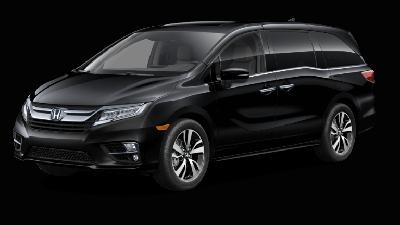 Black 2019 Honda Odyssey Elite